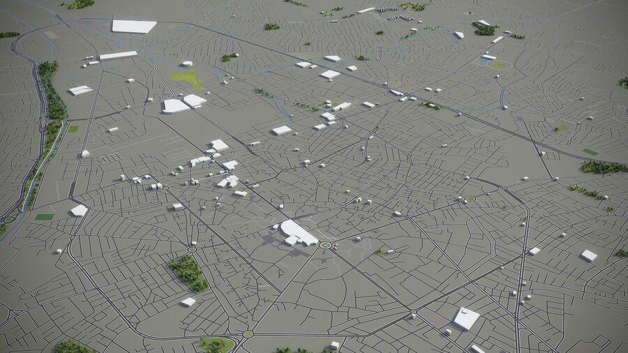 Urmia - Stadt und Umgebung royalty-free 3d model - Preview no. 4