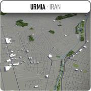 Urmia - Stadt und Umgebung 3d model