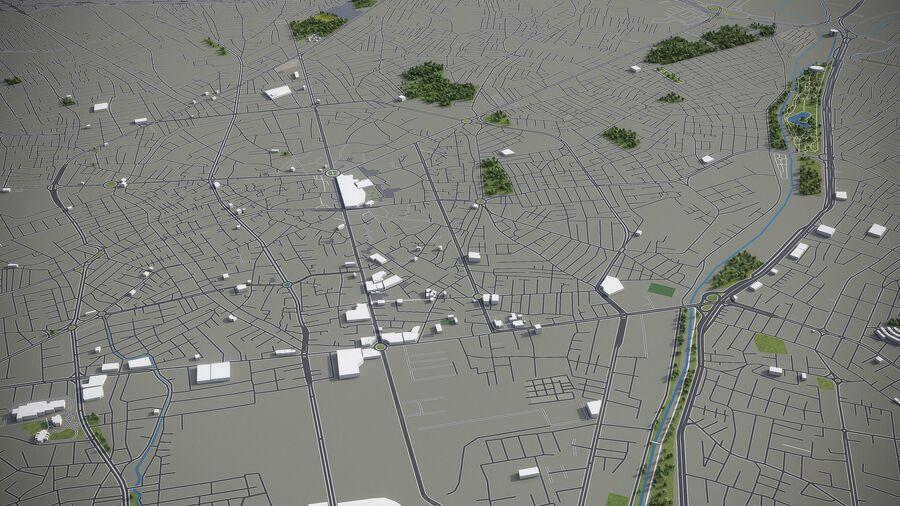 Urmia - Stadt und Umgebung royalty-free 3d model - Preview no. 3