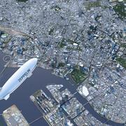 東京市 3d model
