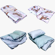 Clothes Collection 21 Bedclothes 3d model