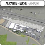 Flughafen Alicante - Elche - ALC 3d model