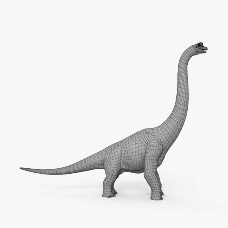 Brachiosaurus HD royalty-free 3d model - Preview no. 15
