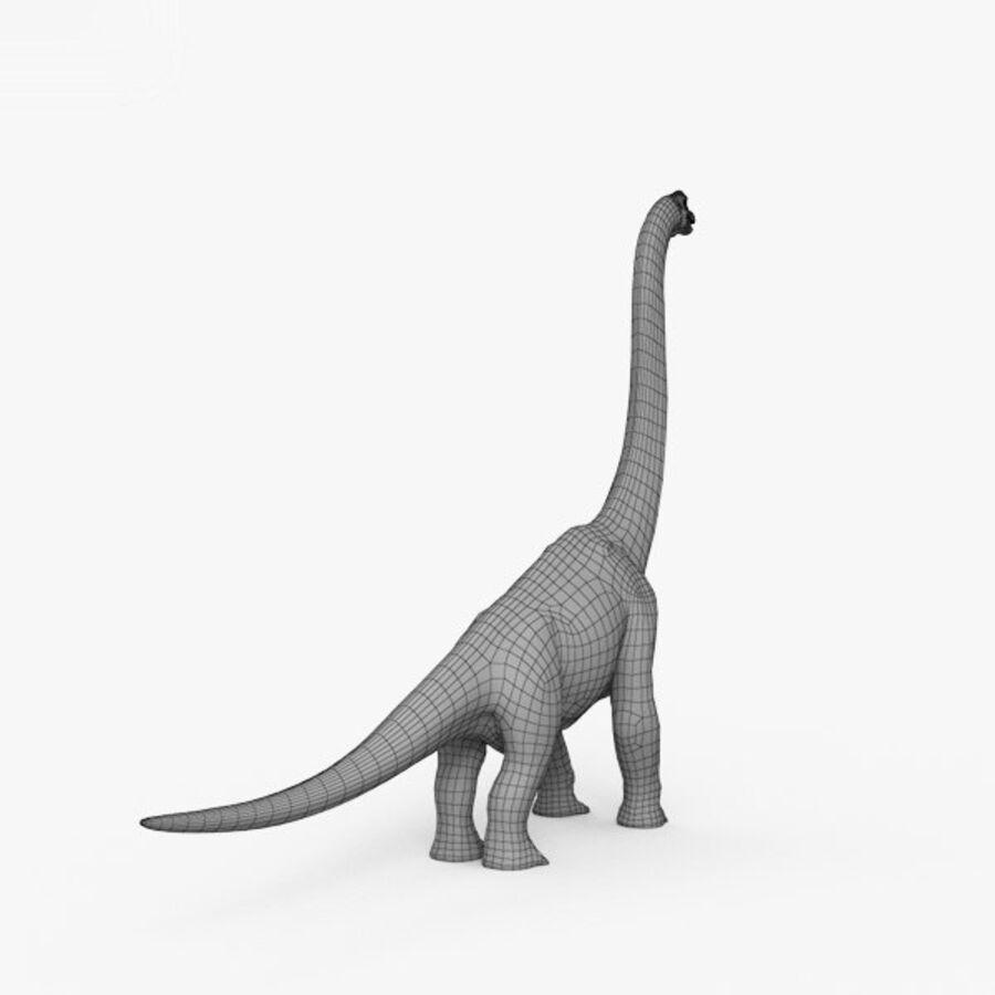 Brachiosaurus HD royalty-free 3d model - Preview no. 13