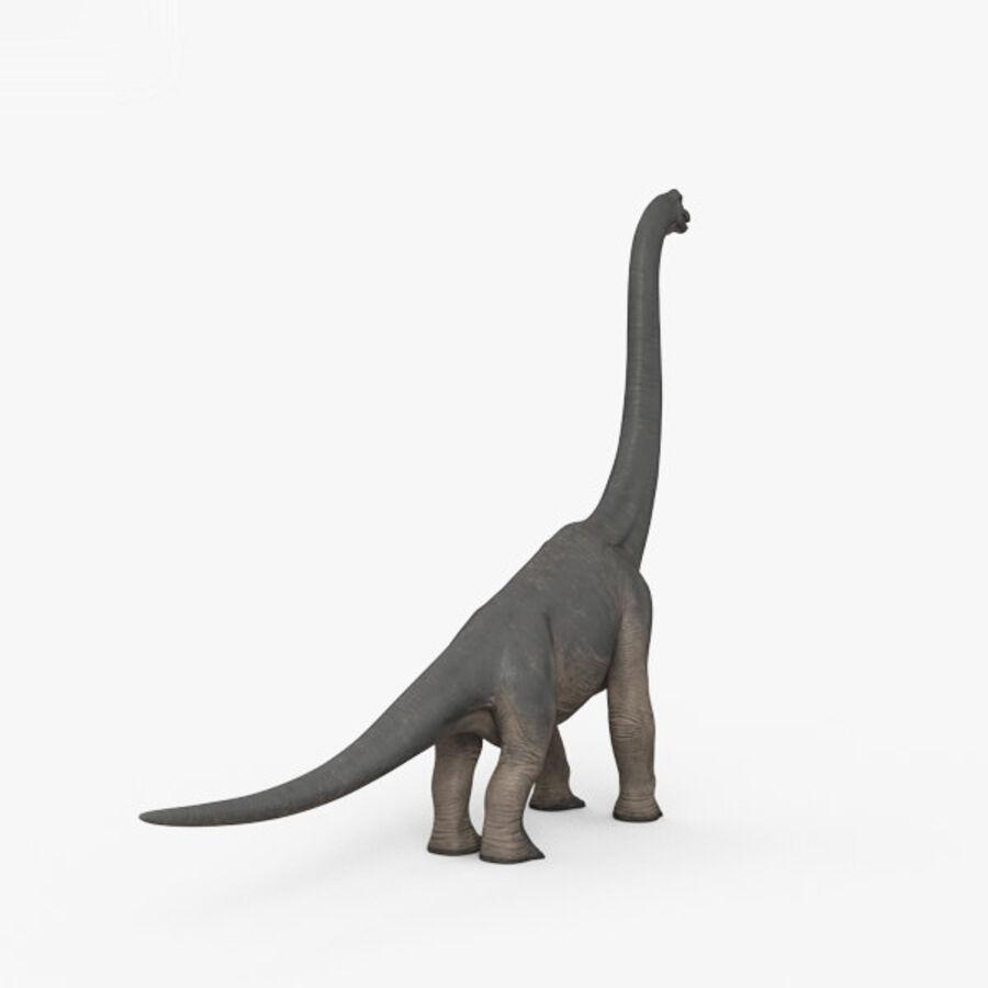 Brachiosaurus HD royalty-free 3d model - Preview no. 12