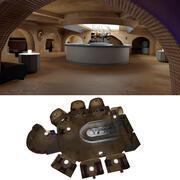 Star Wars Cantina Interior 3d model