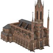 Kerk 03 3d model