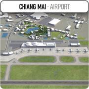 Chiang Mais internationella flygplats - CNX 3d model