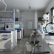Scientific Laboratory 2109-nCoV 3d model