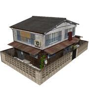 계단 집 3d model