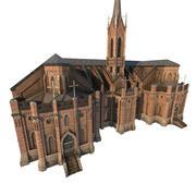 Bibliotheek Kerk 01 3d model