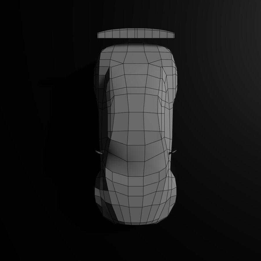 Låg poly Nissan Nismo royalty-free 3d model - Preview no. 9