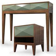 Nachtkastje, dressoir Cosmo 3d model
