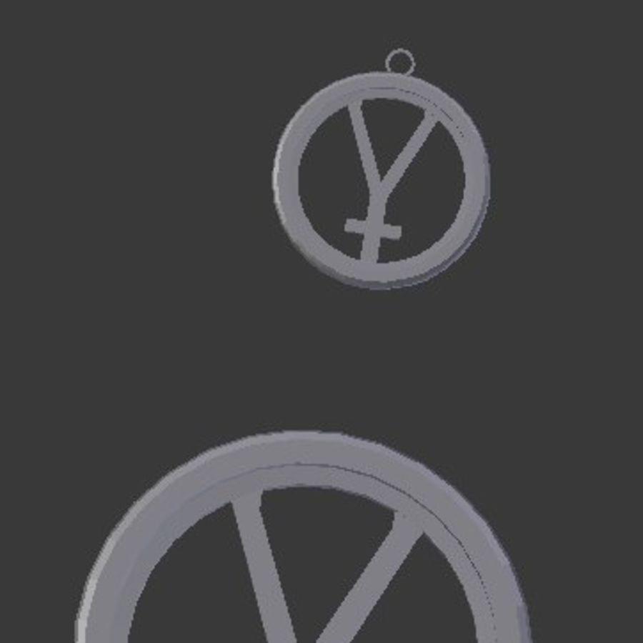 Imprimir Coaster Hefesto e Pingente royalty-free 3d model - Preview no. 3