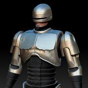로보 경찰 3d model