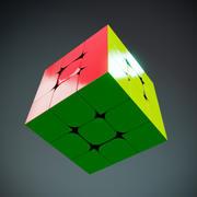 Kostka Prędkości Rubika 3d model