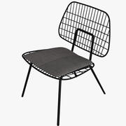 STRING LOUNGE CHAIR 3d model