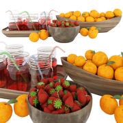 Frutta 3d model