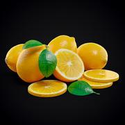 Lemon set 3d model