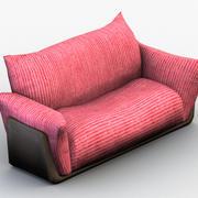 两座沙发0003 3d model