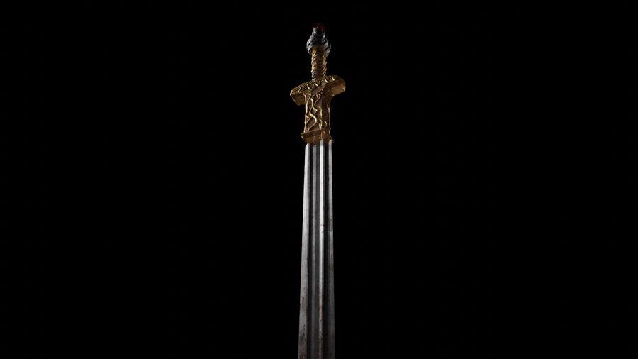 Büyük kılıç royalty-free 3d model - Preview no. 4