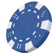 Żeton do kasyna Model 3D czarny żeton do pokera 3d model