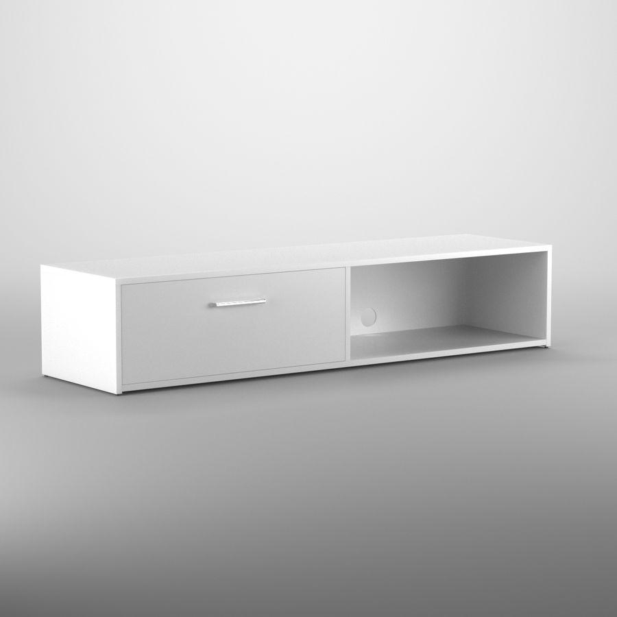Lonegan TV Stand według 17 opowieści royalty-free 3d model - Preview no. 2