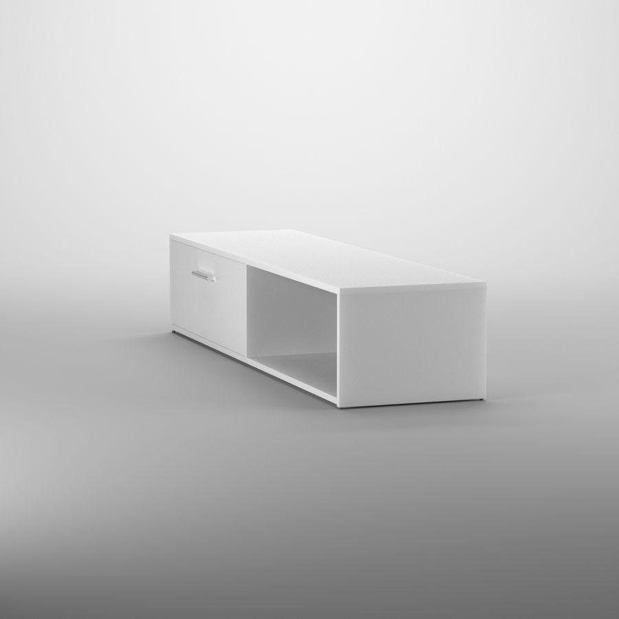 Lonegan TV Stand według 17 opowieści royalty-free 3d model - Preview no. 4