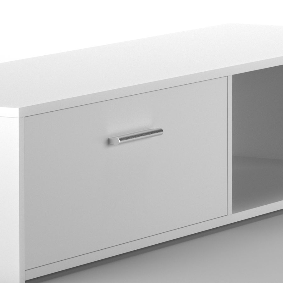Lonegan TV Stand według 17 opowieści royalty-free 3d model - Preview no. 5
