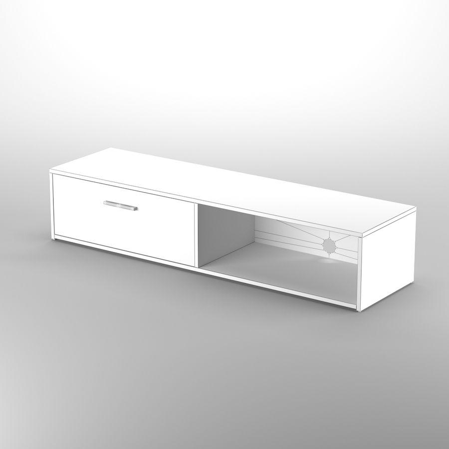Lonegan TV Stand według 17 opowieści royalty-free 3d model - Preview no. 6