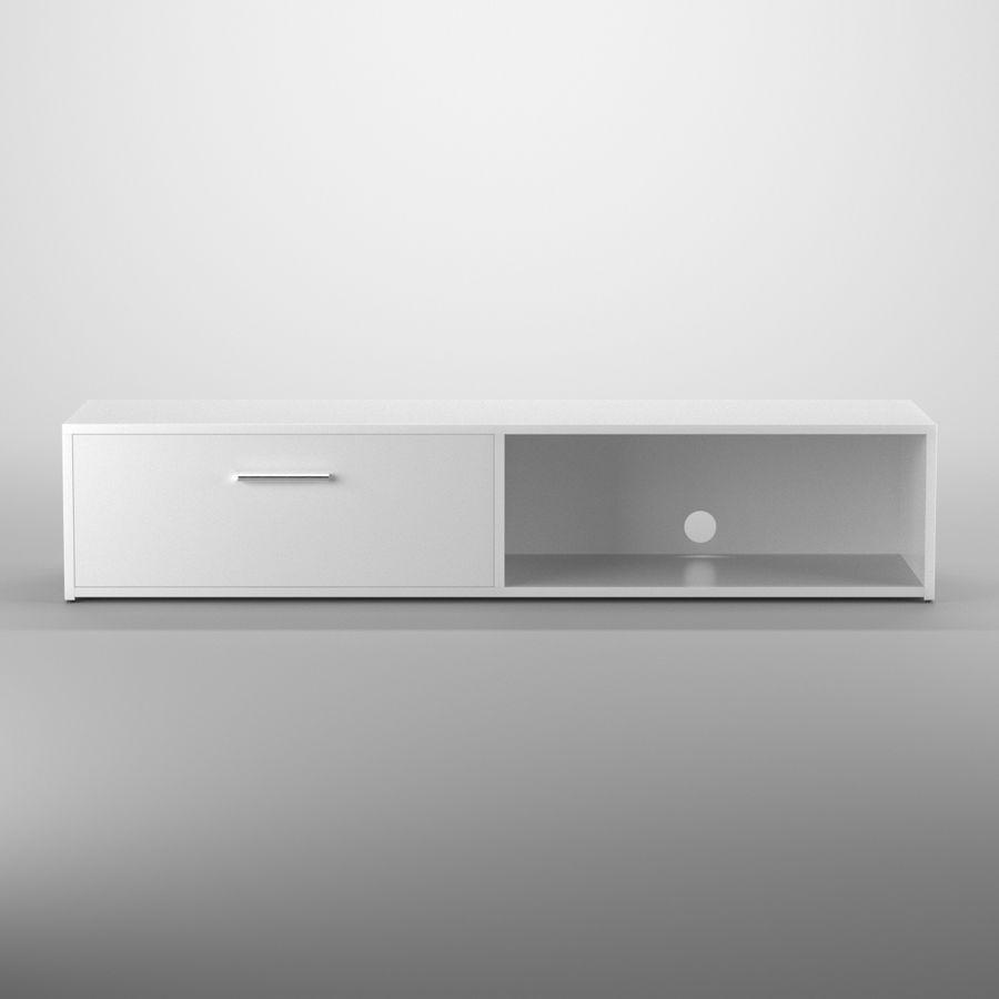 Lonegan TV Stand według 17 opowieści royalty-free 3d model - Preview no. 1