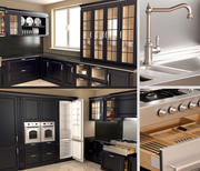 Keuken Scavolini Baltimor 3d model