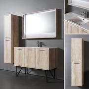툴룸 욕실 가구 3d model
