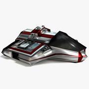 Scifi Cargo Ship 3d model
