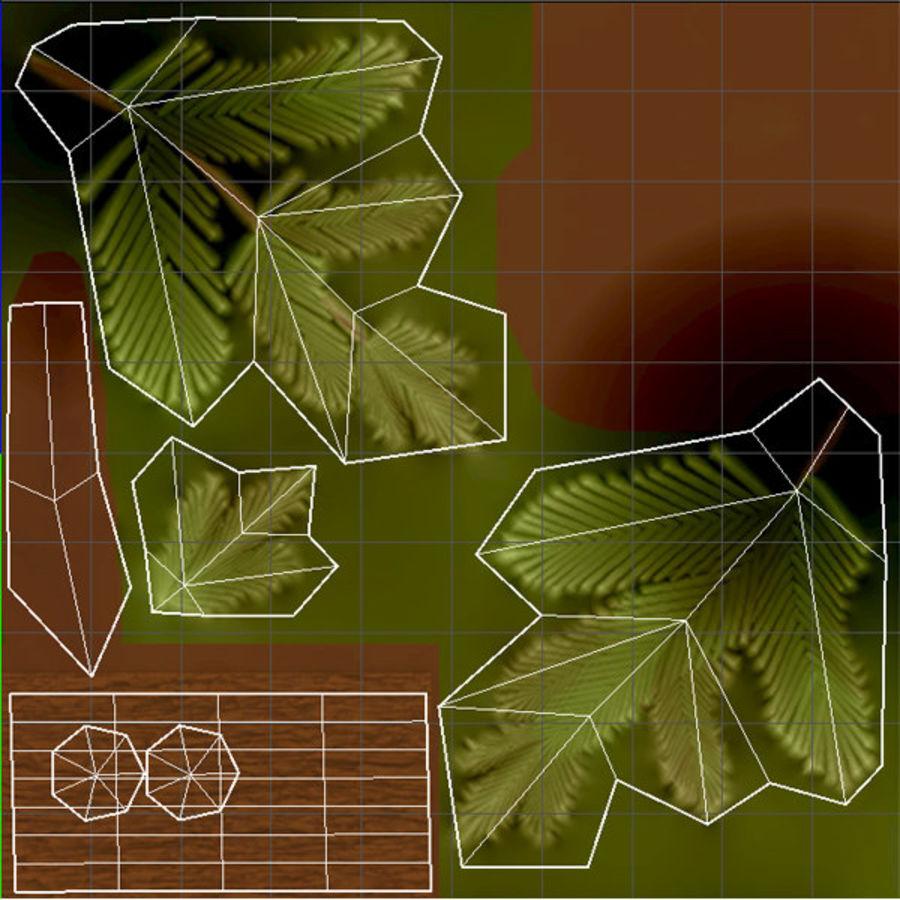 Zasób leśny royalty-free 3d model - Preview no. 4