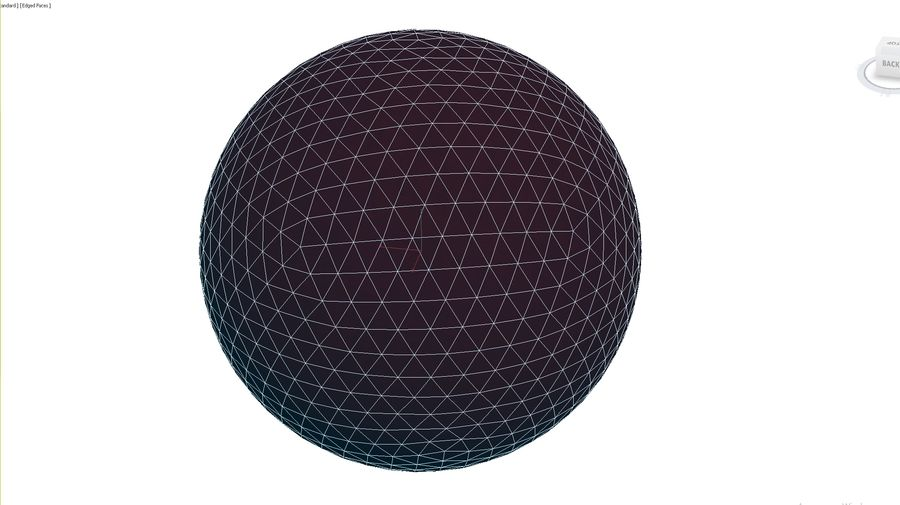 Inflatable Beach Ball 10 royalty-free 3d model - Preview no. 3