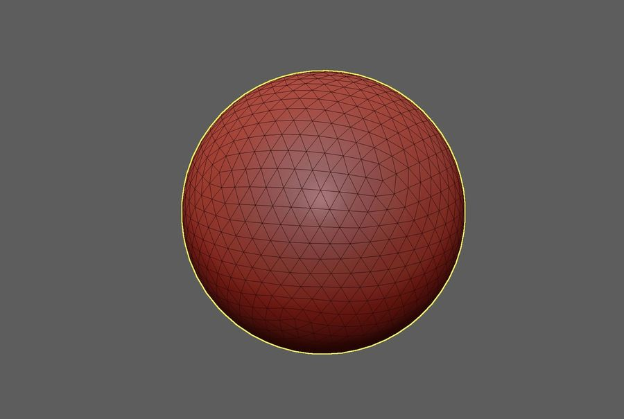 Inflatable Beach Ball 09 royalty-free 3d model - Preview no. 5