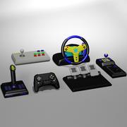 Videospelkontroller 3d model