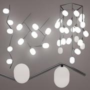 Подвесной потолочный светильник Brokis Ivy Set 3d model