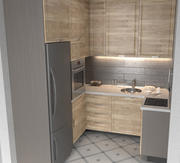 Kitchen Corona Render 3d model