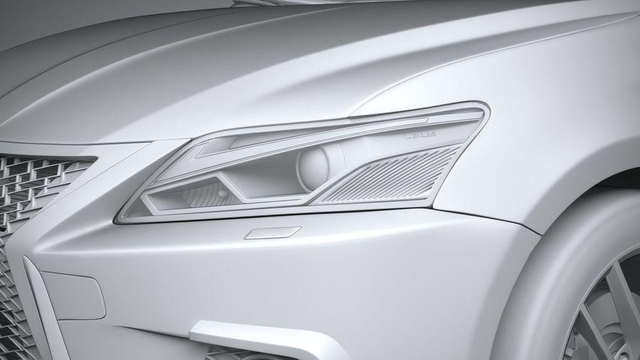 レクサスCT 200h 2020 royalty-free 3d model - Preview no. 24