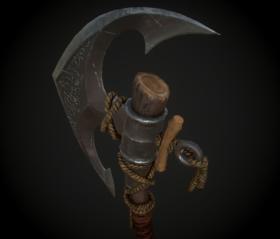 Axe royalty-free 3d model - Preview no. 1