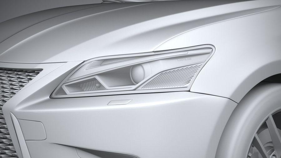 レクサスCT 200hレギュラー2020 royalty-free 3d model - Preview no. 24