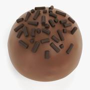 Bombons de chocolate 11 3d model