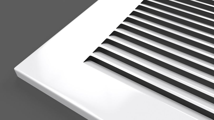 Air Vent Register royalty-free 3d model - Preview no. 8