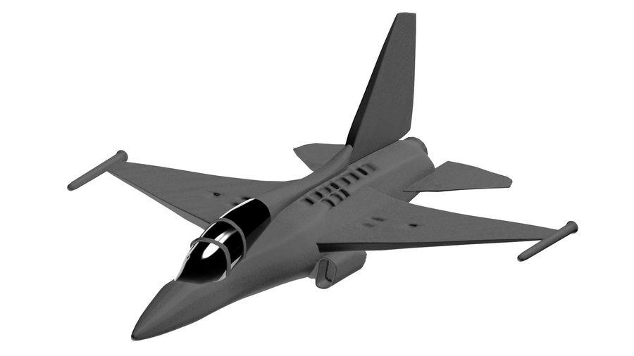 avião a jato royalty-free 3d model - Preview no. 4