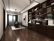 Chinese Home-Office Design 3d model