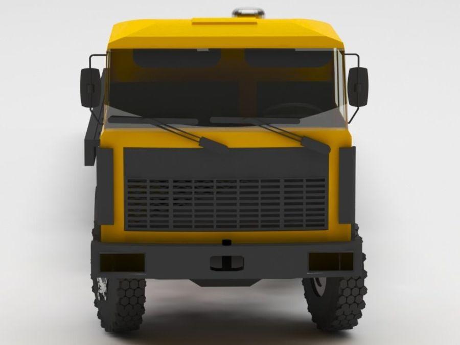 卡车 royalty-free 3d model - Preview no. 8