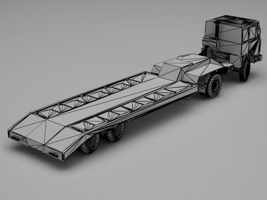 卡车 royalty-free 3d model - Preview no. 9
