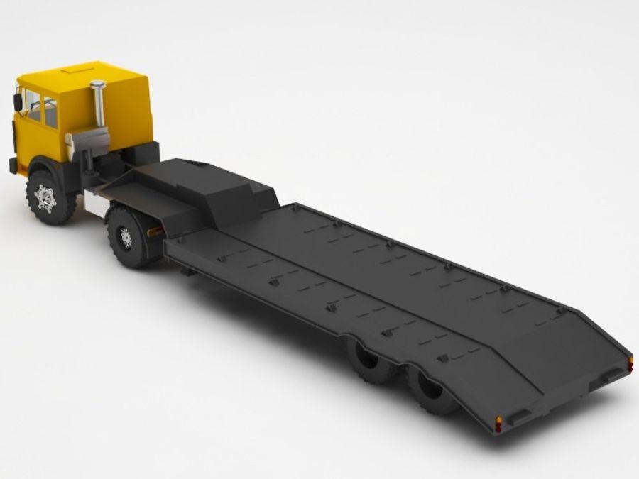 卡车 royalty-free 3d model - Preview no. 3